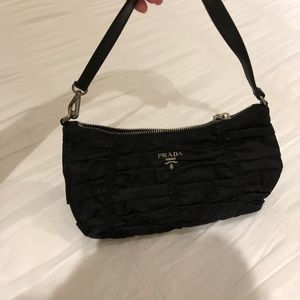 28ef0ec6f2f825 Prada Bags | Small Nylon Ruffled Bag | Poshmark